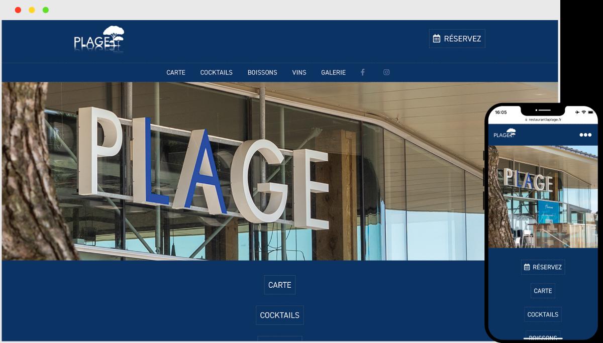 RestaurantLaPlage.fr